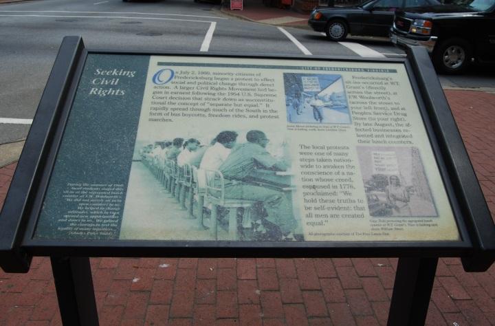 The 1960 FredericksburgSit-Ins