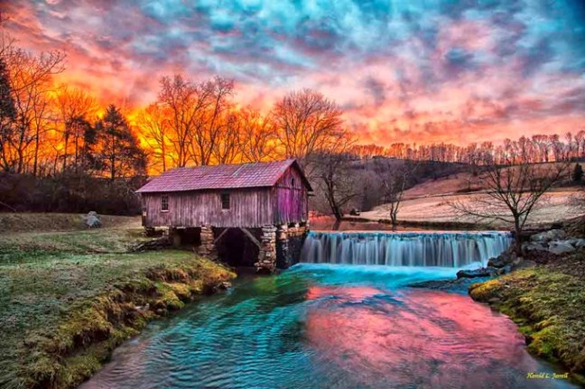 Cowan Mill by Harold Jarrell